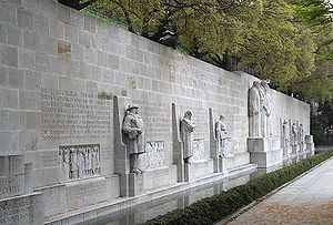 Reformation Wall, Geneva, Switzerland