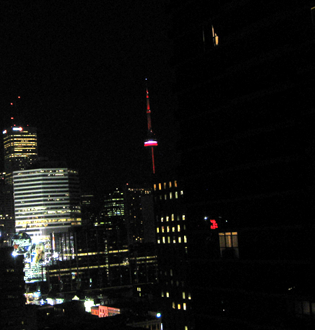 Night CN tower