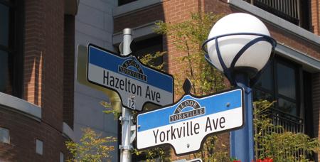 Yorkville and Hazelton